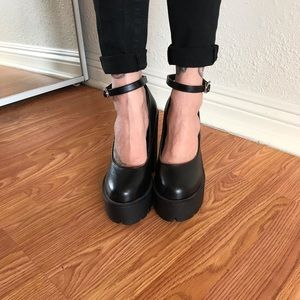 Shoes - Vegan Leather Heels
